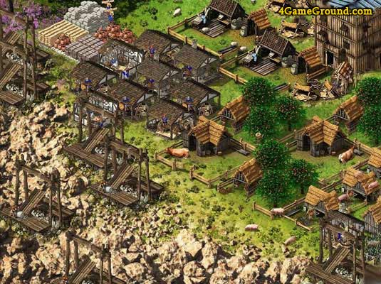 Stronghold Kingdoms - your settlement