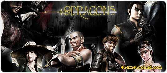9 Dragons - spirit of ancient China!