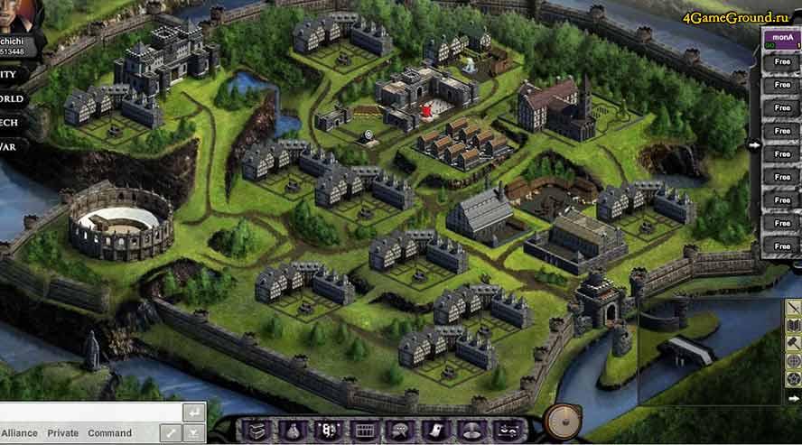 Alliance Warfare - your town
