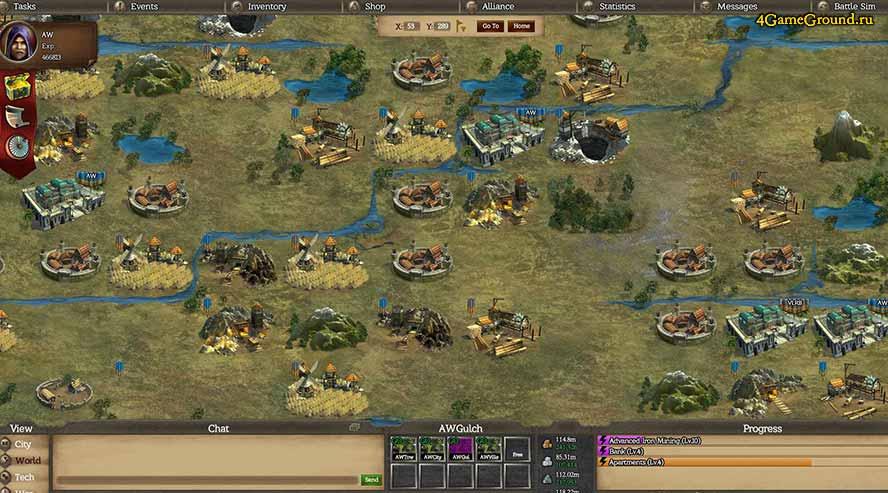 Alliance Warfare - map