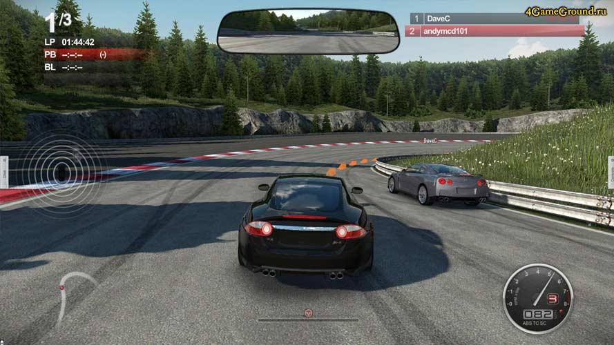 Auto Club Revolution - race!