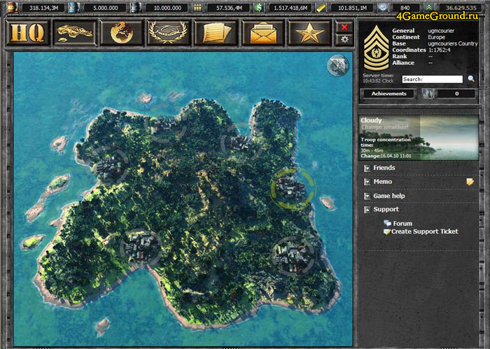 Desert Operations - island