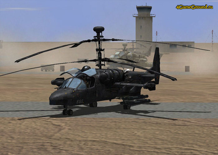 Desert Operations - helicopter