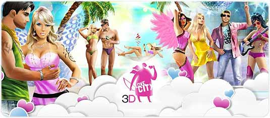 Love City 3D - Meet, talk, fall in love!