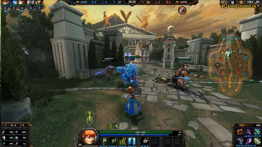 The world of SMITE: Battleground of the Gods