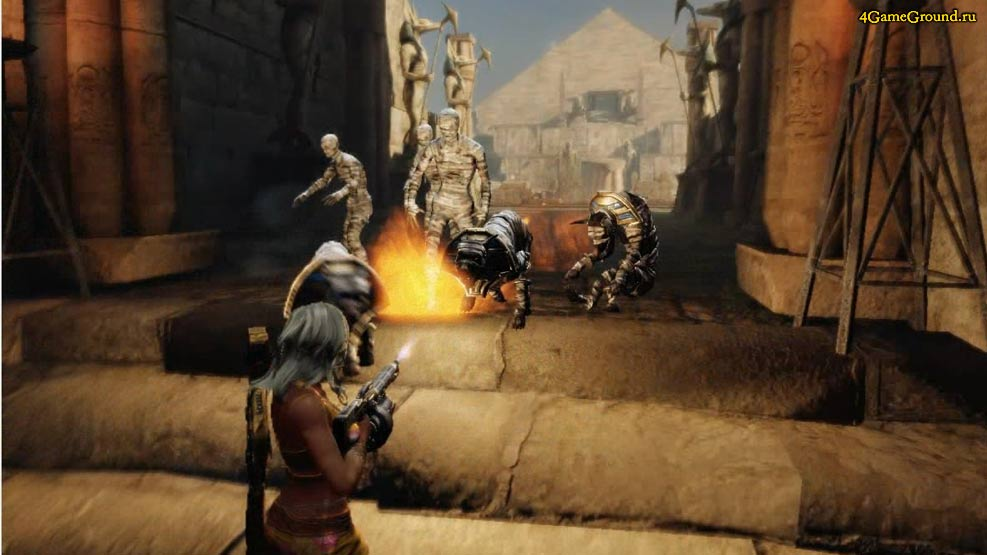 Black Fire - mummies