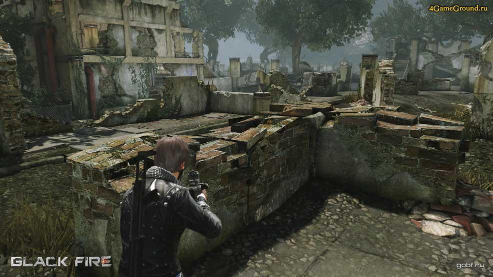 Black Fire - city ruins