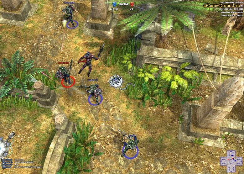 Combat Sector battle