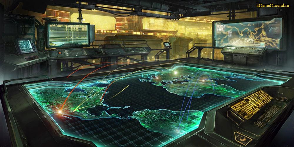 Command & Conquer: Tiberium Alliances - map