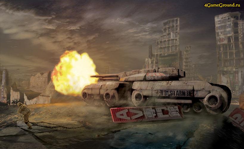 Tanks in Command & Conquer: Tiberium Alliances