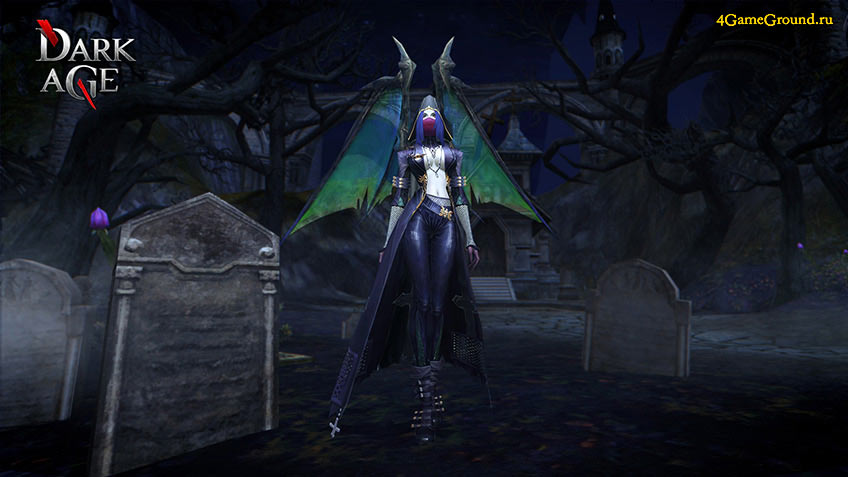 Dark Age - cemetary