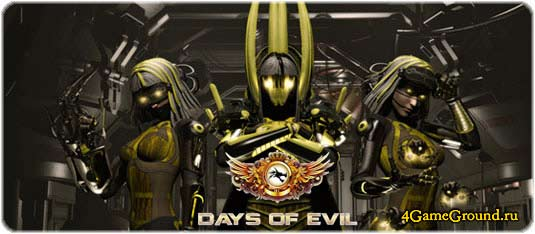 Play Days of Evil game online for free