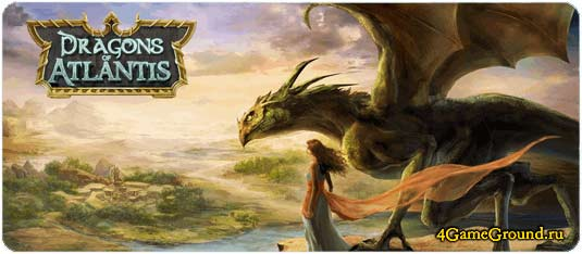 Play Dragons of Atlantis game online for free