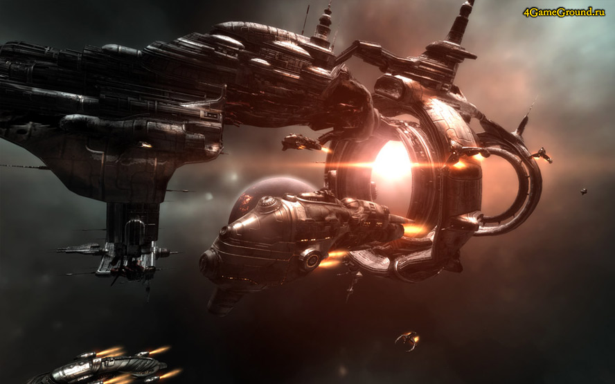 EVE online - big ship