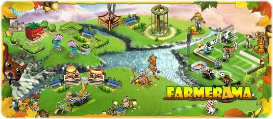 Play Farmerama game online for free