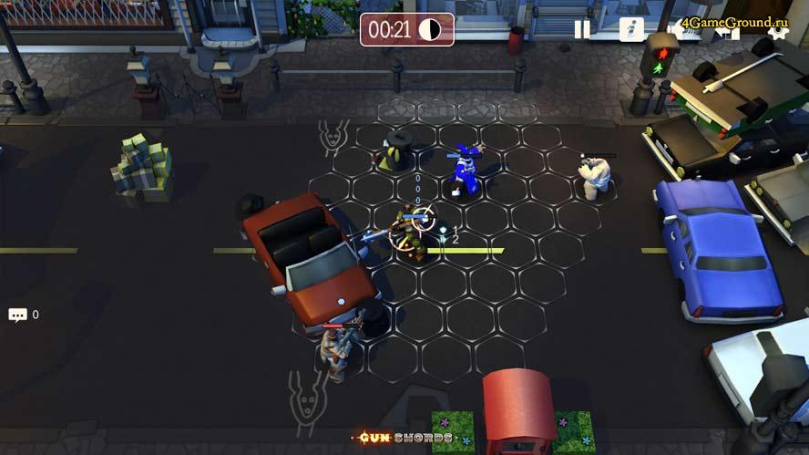 Gunswords Tin Soldiers - street battle