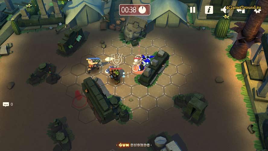 Gunswords Tin Soldiers - desert battle