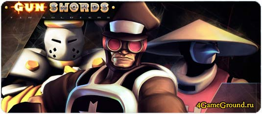 Play Gunswords Tin Soldiers game online for free