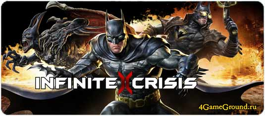 Infinite Crisis - become a real superhero!!