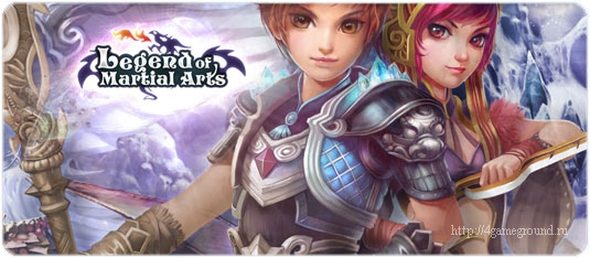 Legend of Martial Arts - role-playing game with a fantasy!