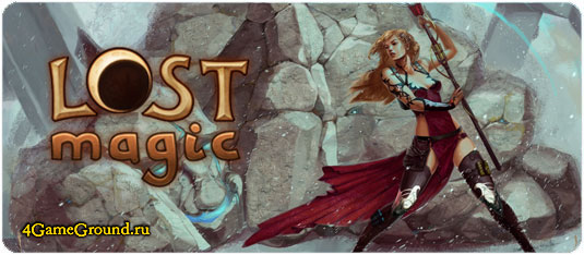 Lost Magic - free browser based MMORPG