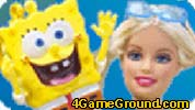 Barbie and SpongeBob