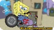 SpongeBob play for free : On a motorcycle