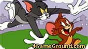 Tom chasing Jerry