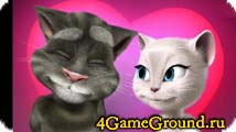 Talking Tom Cat Valentine