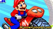 Mario, the star racing
