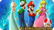 Mario, Rosalina, Luigi and Peach