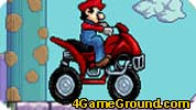 Mario dashing racer