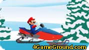 Mario snow scooter
