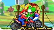 Motor Racing in Mario World
