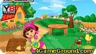 Dora At The Farm Games