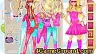 Barbie Room Dressup