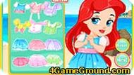 Princess Ariel Shoes Design