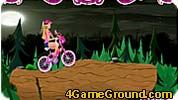 Barbie Halloween bike ride