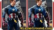 10 Differences – Captain America