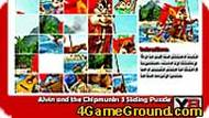 Alvin and the Chipmunks 3 Sliding Puzzle