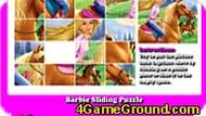 Barbie Sliding Puzzle