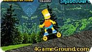 Bart Simpsons Skateboard Game
