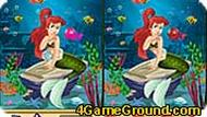 Ariel Mermaid Spot The Difference