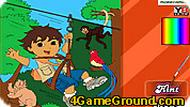 Diego Forest Adventure Coloring