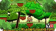 Monkey Jumping Adventure Game