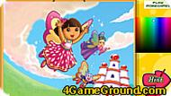 Dora Crystal Kingdom Coloring