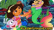 Dora the Mermaid Hidden Game