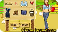 Farm Girl Dress Up