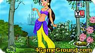 Jasmine Dress Up Game