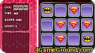 Superman Logo – Memory Match